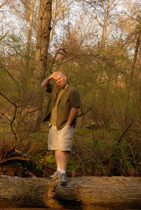Jeff, trees, woods