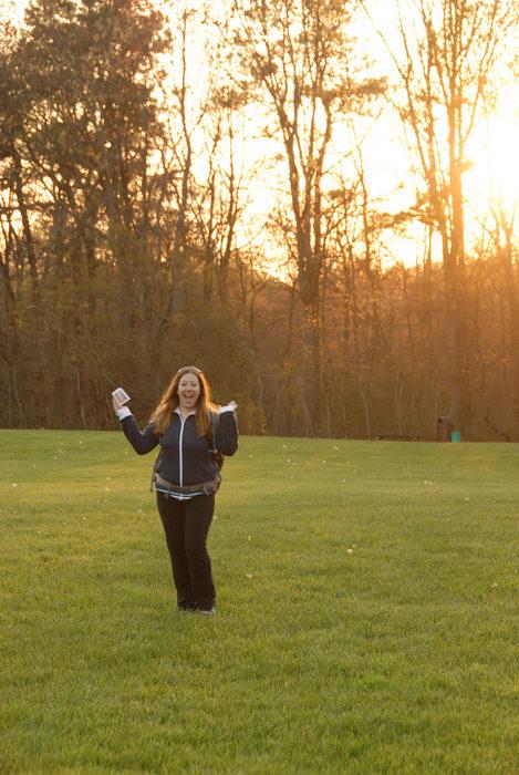 Ahh, Jacki, field, sunset