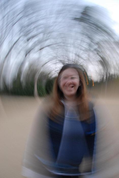 Jacki, blurry, spin