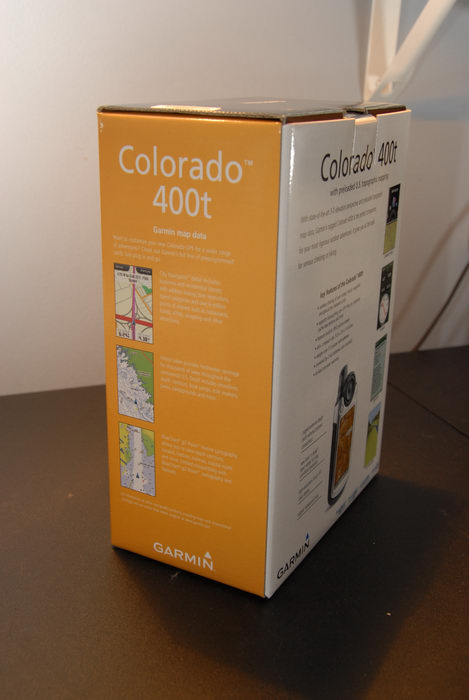 Colorado 400t packaing, box