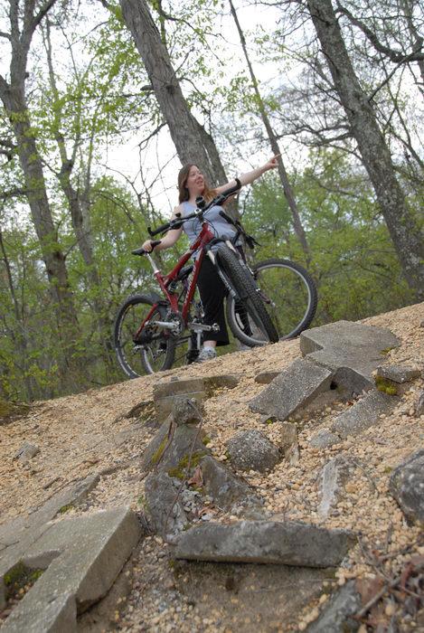 2006 Specialized FSR XC Comp, Jackie, bike, mountain bike, trees, woods