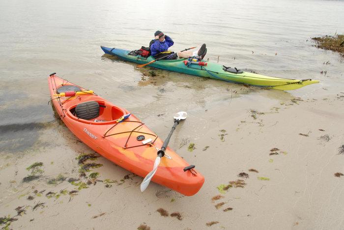 Dagger Blackwater 11.5, Rob, beach, kayak, paddle, sand, water