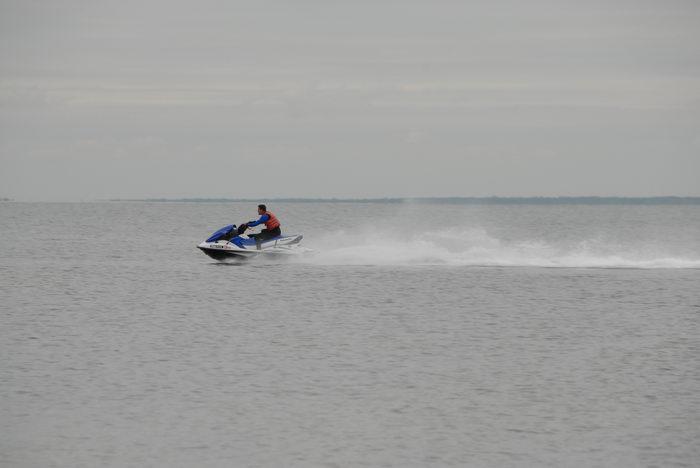 Barnegat Bay, jet ski, water