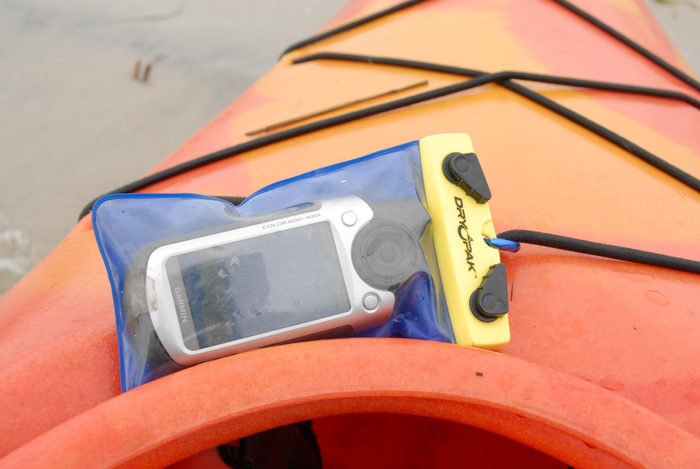 Dagger Blackwater 11.5, Garmin Colorado 400t, dry bag, kayak