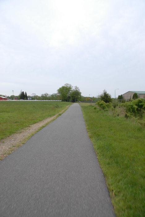 grass, path, paved