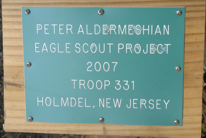 eagle scout project, sign