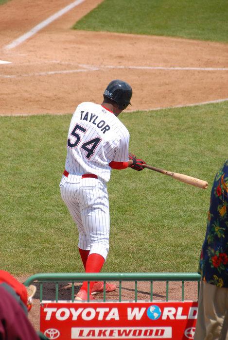 #54, Taylor, baseball player, batter, grass