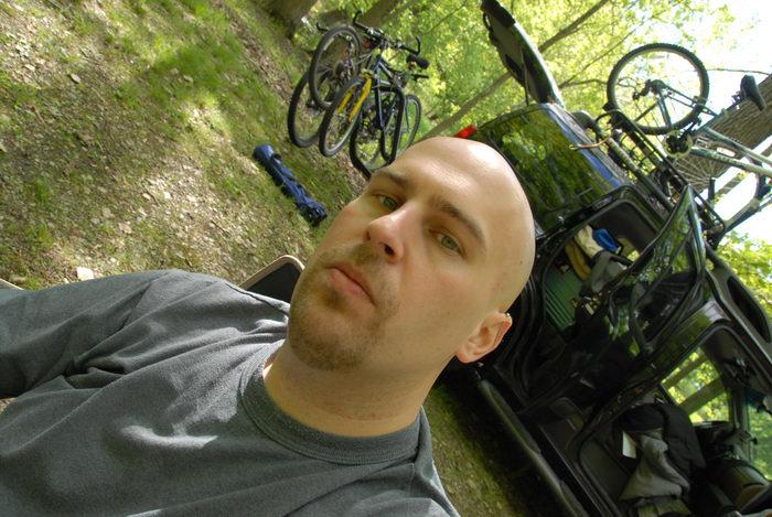 2006 Nissan Xterra, Jeff, bikes, rocks