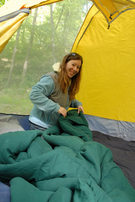 Jackie, My Favorite Pictures, blankets, tent