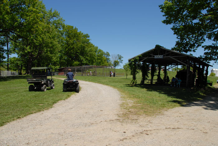 carabs photo atv blue sky dirt field grass path people snack bar trees location space farms zoo museum 080525 206 space farms zoojpg