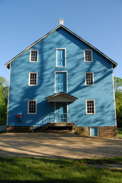 My Favorite Pictures, blue, blue sky, dirt, grass, gristmill, proad