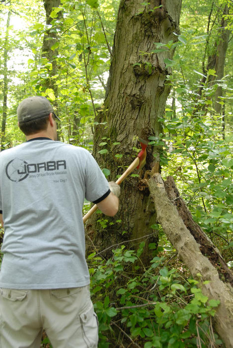 JORBA Tee Shirt, S.M.A.R.T., SMART, ground cover, tools, trail maintenance, trees, woods