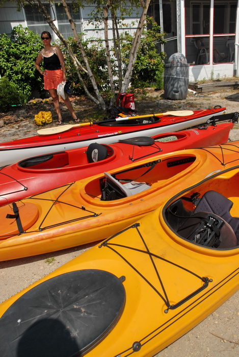 kayak, paddling, kayaking