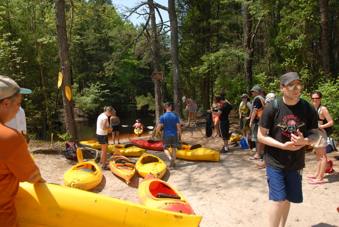 beach, kayak, kayaking, paddling, river, water, trees