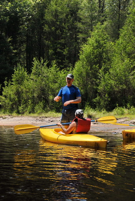 beach, kayak, kayaking, paddling, river, trees, water, Vaughn