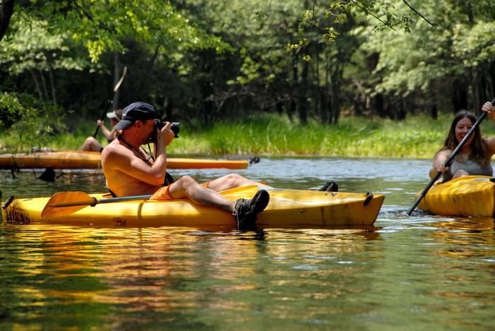 Jackie, grass, kayak, kayaking, paddling, river, trees, water, photographer