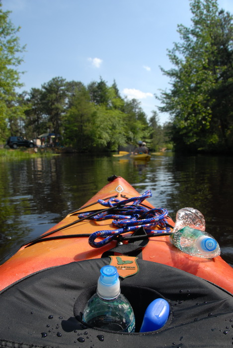 grass, kayak, kayaking, paddling, river, trees, water, rope swing