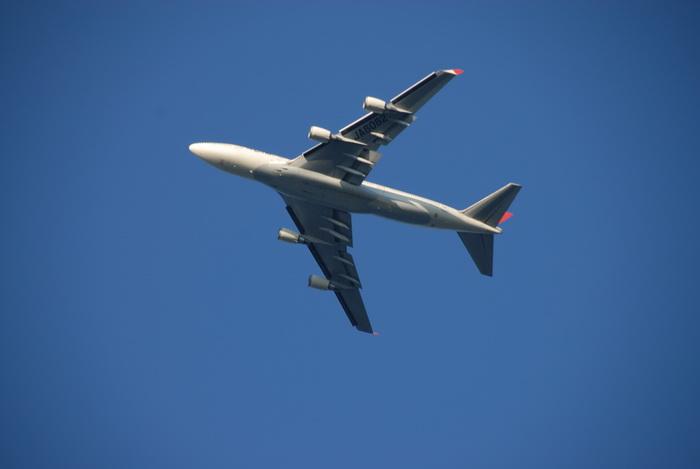 blue sky, plane