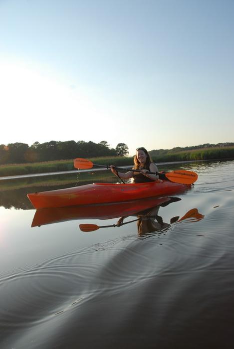 Jackie, water, river, kayaking, paddling, paddle, little waves