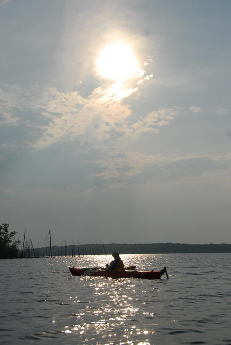 kayak, kayaking, lake, paddling, people, reservoir, sun, water