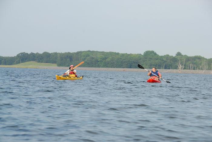 JSSKA, kayak, kayaking, lake, paddling, people, reservoir, trees, water