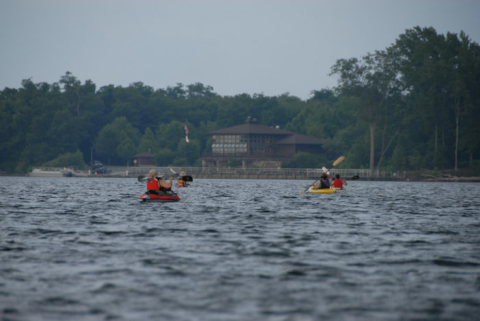 JSSKA, kayak, kayaking, lake, paddling, people, reservoir, storm clouds, trees, visitor center, water