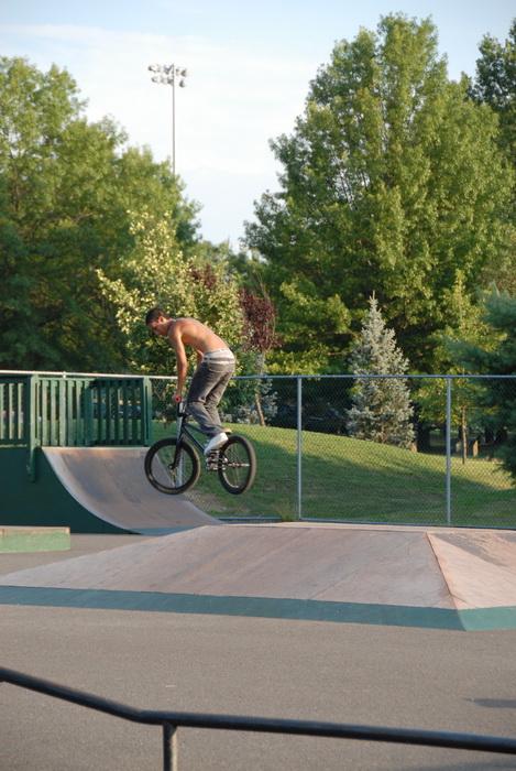 bmx, skate park, quarter pipe, box, jump, ramp, rail