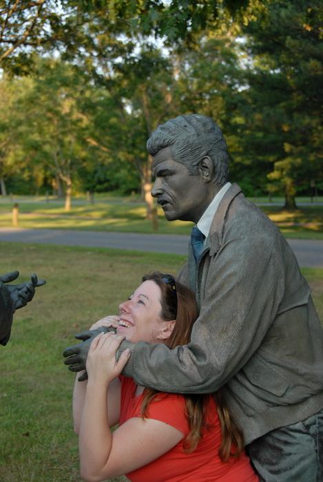 statue, Jackie
