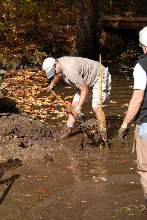 trail maintenance, water, river, tools
