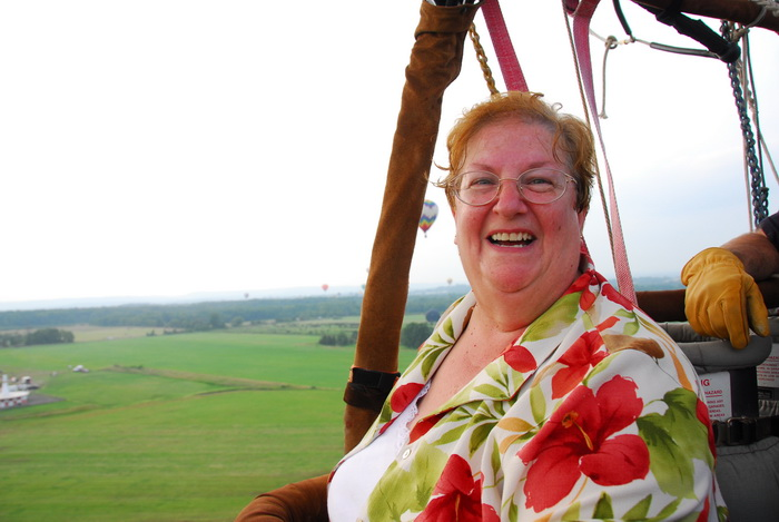 field, floating, flying, glove, hot air balloon, mom