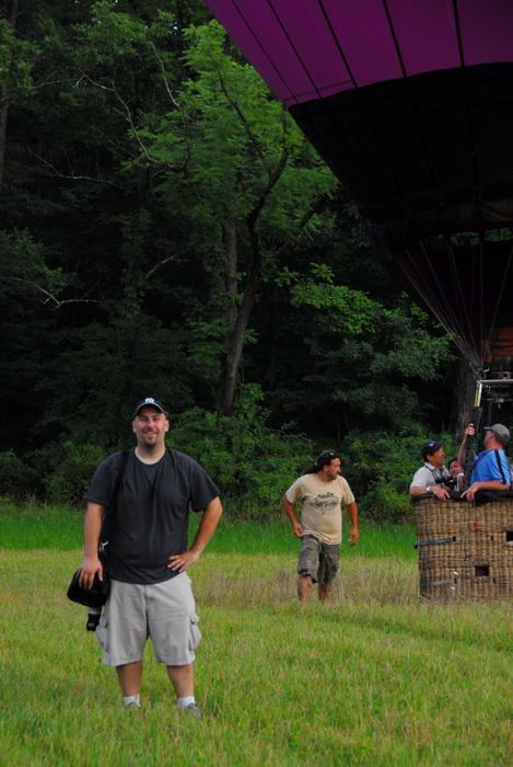 basket, eople, hot air balloon, Jeff Conklin