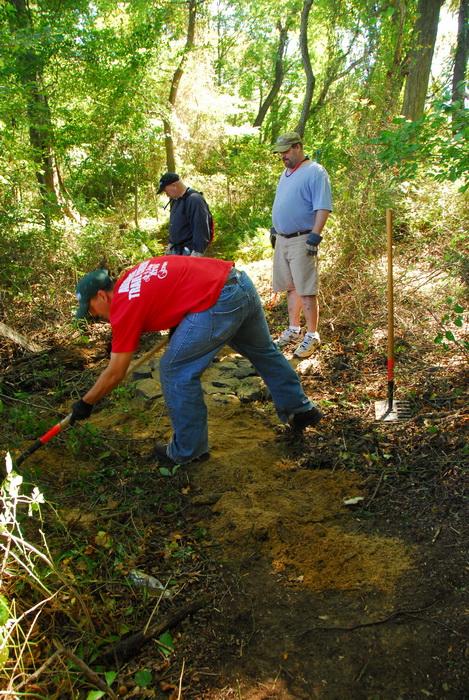 JORBA, S.M.A.R.T., leaves, path, trail day, trail maintenance, trails, trees, woods