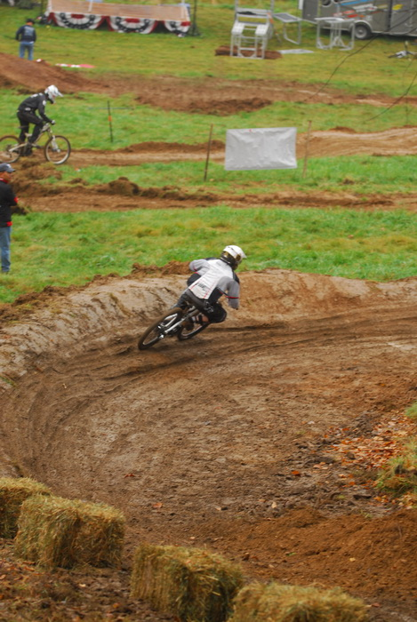 downhill mountain bike track, mountain bike, mountain bikers, mud, racer, racing, movement, action