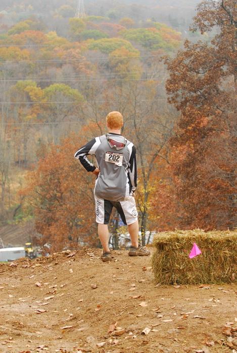 cool kid, mountain biker, redhead, hay bale