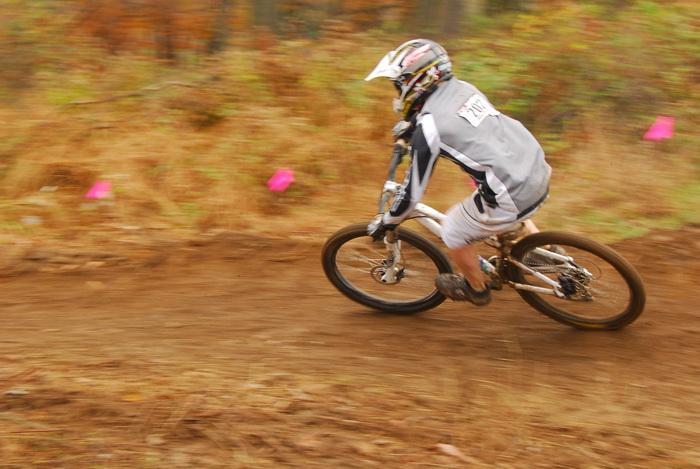 downhill mountain bike track, mountain bike, mountain bikers, mud, racing, action, motion