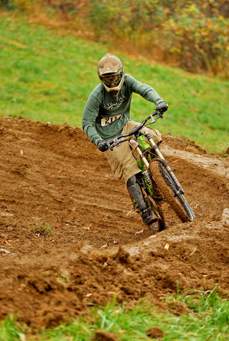 downhill mountain bike track, mountain bike, mountain bikers, racer, racing, mud