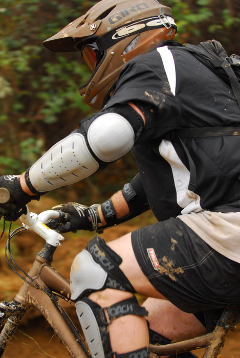 mountain bike, mountain bikers, mud, racing